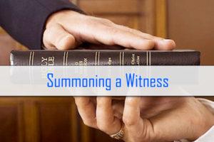 summoning-a-witness
